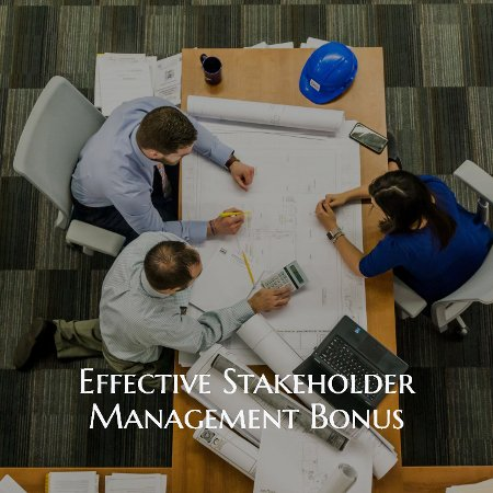 Effective Stakeholders Bonus Tutorials
